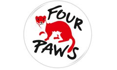 Four Paws UK logo