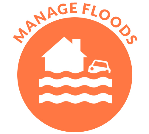 Manage floods